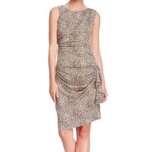 Betsey Johnson leopard print dress